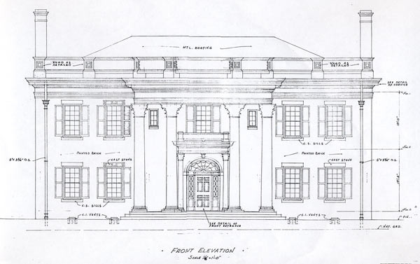 Allandale History The Mansion
