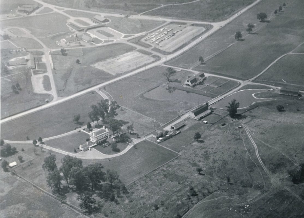 Aerial View - 1950's