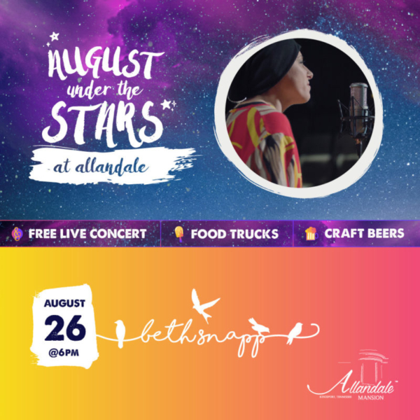 Beth Snapp with August Under The Stars