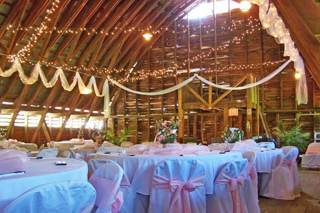 wedding dance barn